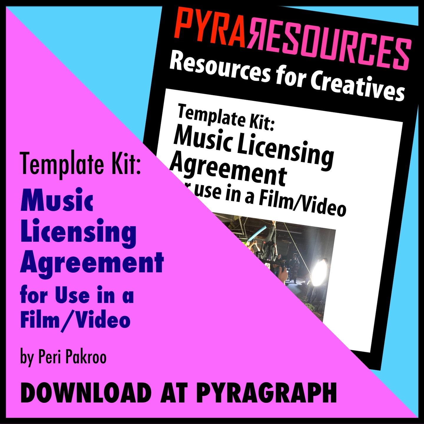 Music Licensing Agreement For Use In A Filmvideo Template Kit