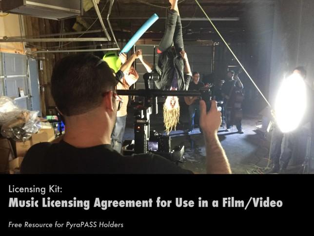 Music Licensing Agreement Kit - Pyragraph