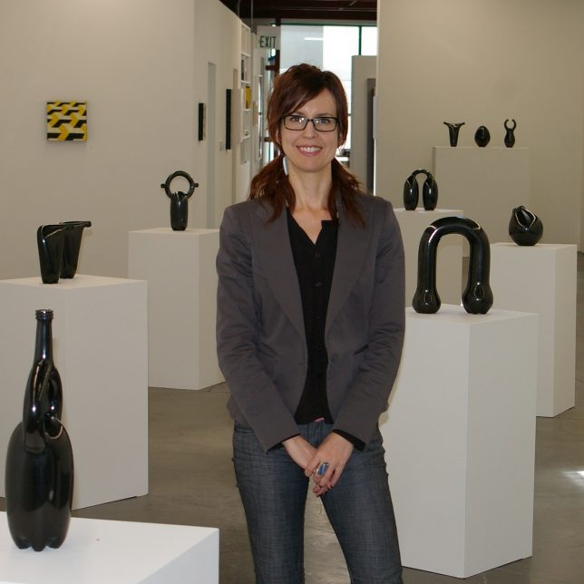 Nancy Zastudil, Owner/Director, Central Features Contemporary Art - Pyragraph