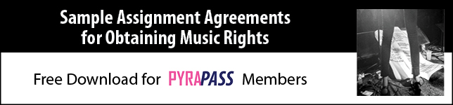PyraPASS: Sample Assignment Agreements for Music