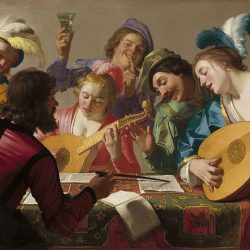 The-Concert-Honthorst - Pyragraph