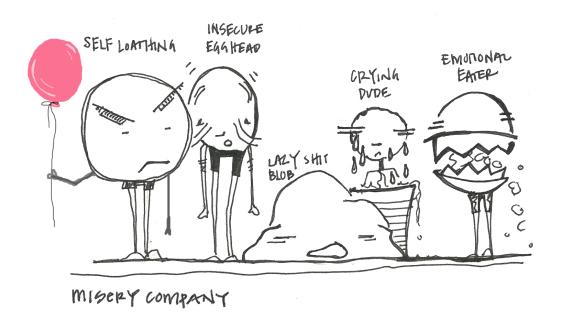 Pity Party by Dani Alvarez | Pyragraph