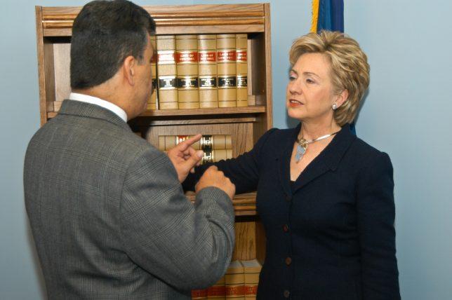 Hillary Clinton by Clarke Condé - Pyragraph