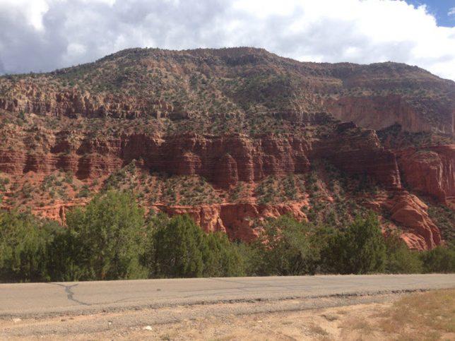 Southwest landscape in New Mexico. Photo by Danila Rumold - Pyragraph