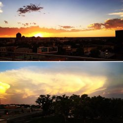 New Mexico sunset by Lauren Myers - Pyragraph