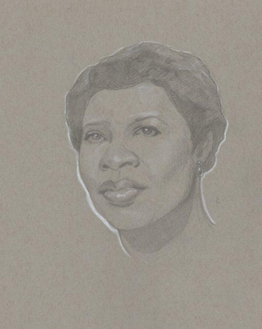 Gwen Ifill - Michael Ellis - Pyragraph