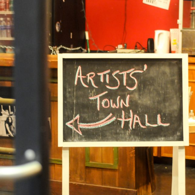 Artists Town Hall, December 2016, Albuquerque - Pyragraph