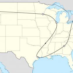Tour map - Pyragraph