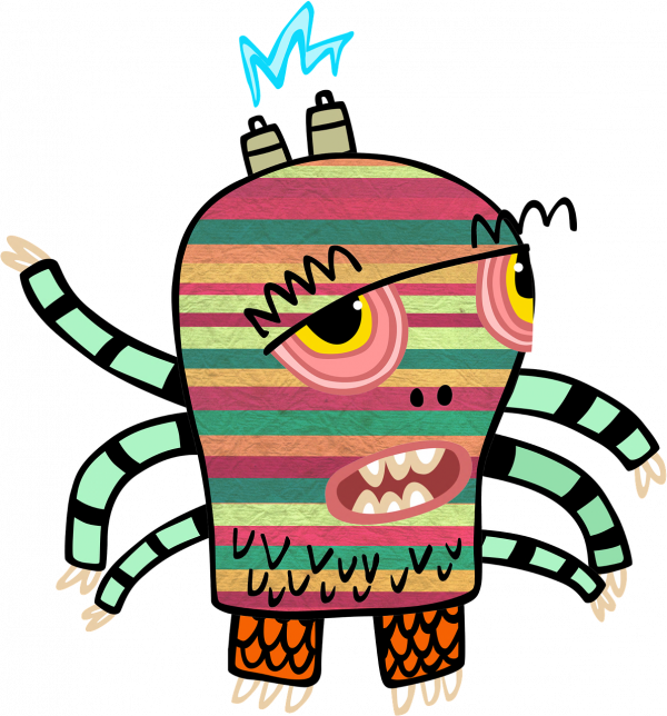 Monster by Artsy Bee - Pyragraph