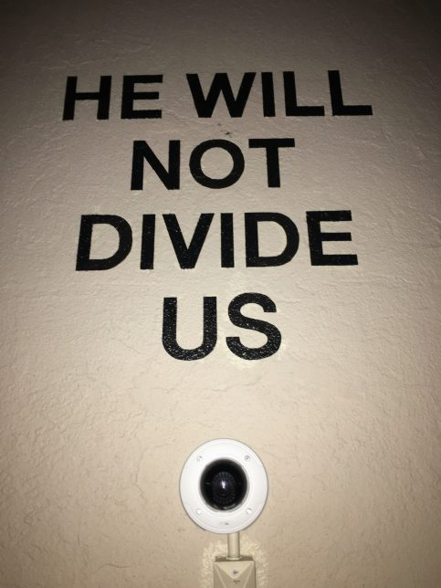 He will not divide us - Pyragraph