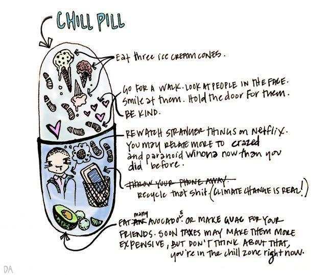 Chill Pill by Dani Alvarez - Pyragraph
