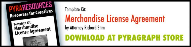 Merchandise License Agreement Template Kit - Pyragraph
