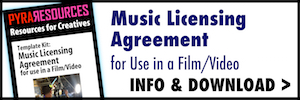 Music Licensing Kit for Filmmakers and Musicians Template Kit