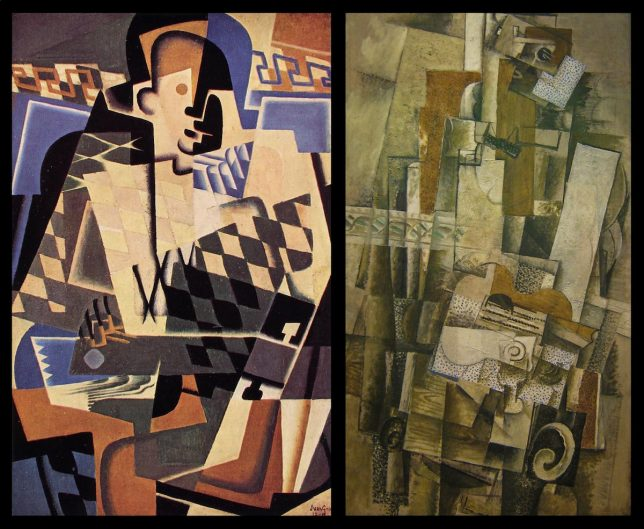 George Braque and Juan Gris - Pyragraph
