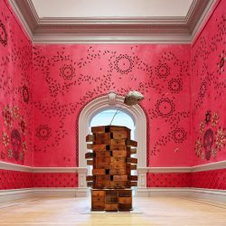 Jennifer Angus, In the Midnight Garden, Renwick Gallery, 2015 - Pyragraph