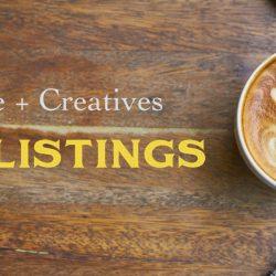 Coffee + Creatives Job Listings - Pyragraph