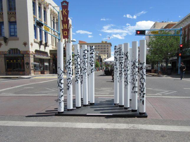 Installation by Reyes Padilla - Pyragraph