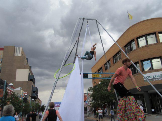 AirDance NM performer Monica Demarco - Pyragraph