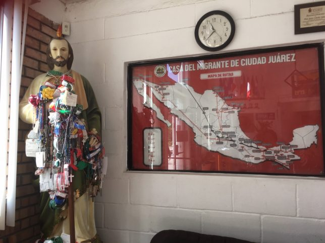 Saint and map of Mexico - Pyragraph
