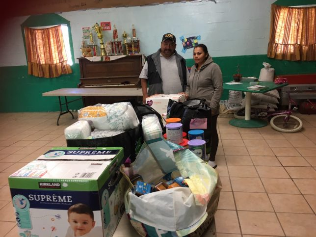 Relief supplies for asylum-seekers - Pyragraph