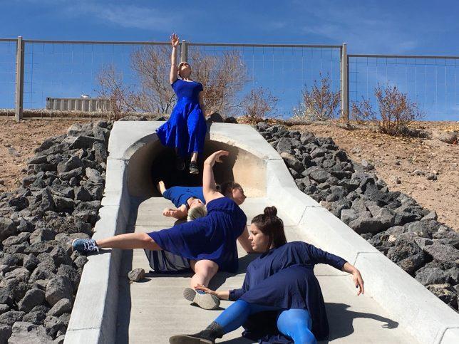 Keshet Dance Company, National Water Dance 2018 - Pyragraph