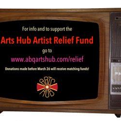 Arts Hub Artist Relief Fund - Pyragraph