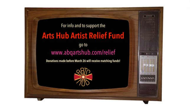 Arts Hub Artist Relief Fund - Pyragraph