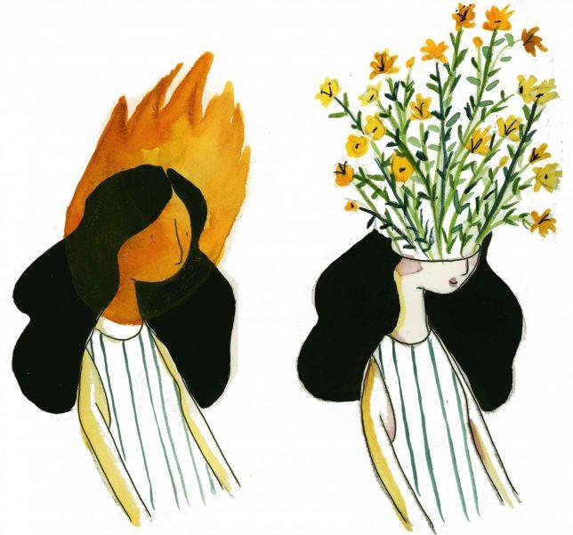 Zahra Marwan, Burning the Anguish - Pyragraph