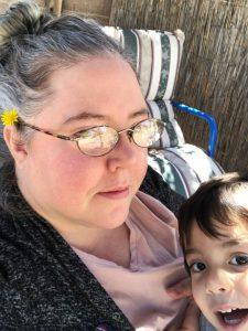 Lisa Barrow and kiddo - Pyragraph