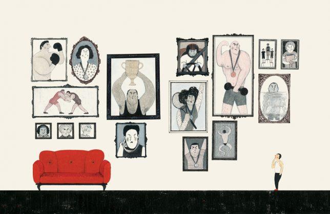 Reza Dalvand illustration - Pyragraph