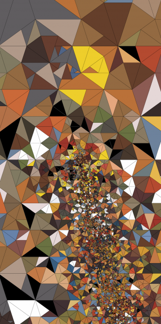 Penrose tiles by Jared Tarbell - Pyragraph
